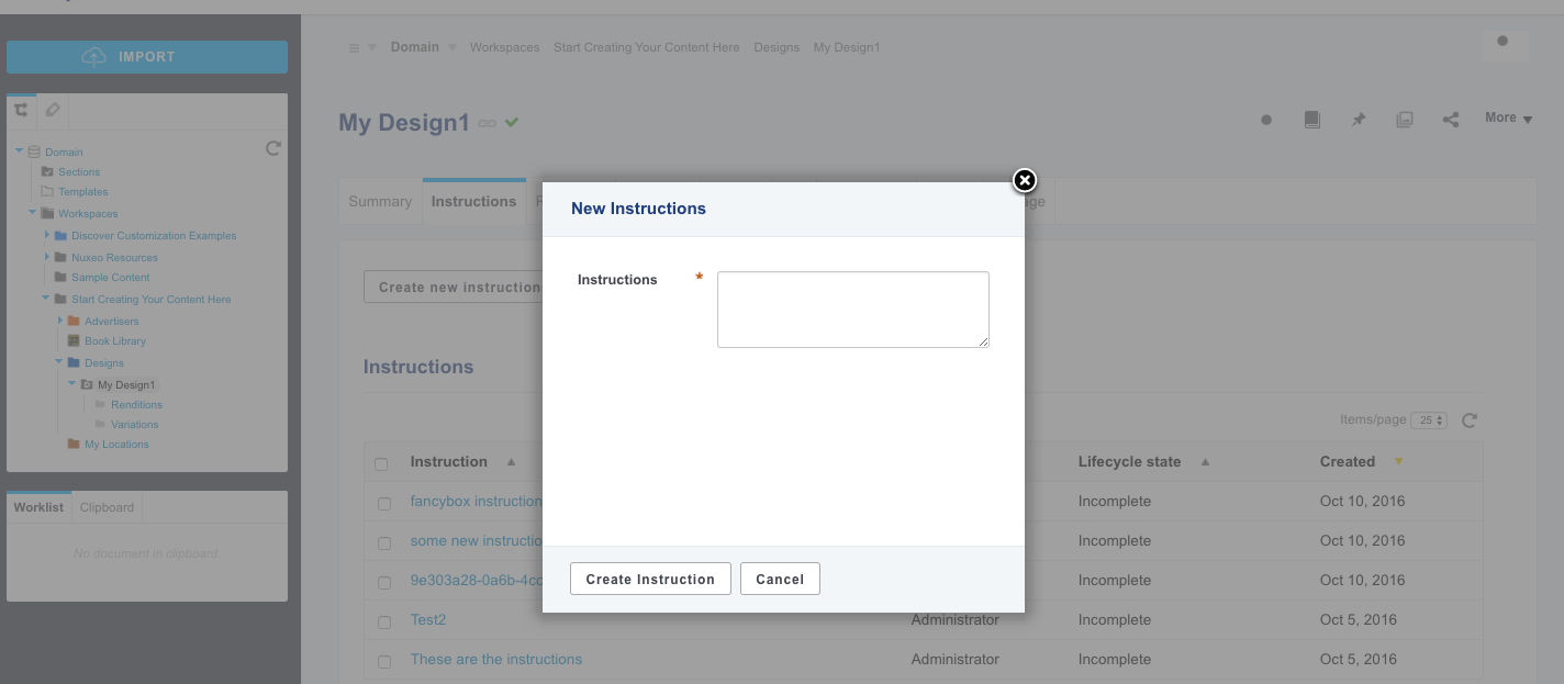 Enhance UI Experience with a Modal Panel (Fancybox) | Nuxeo