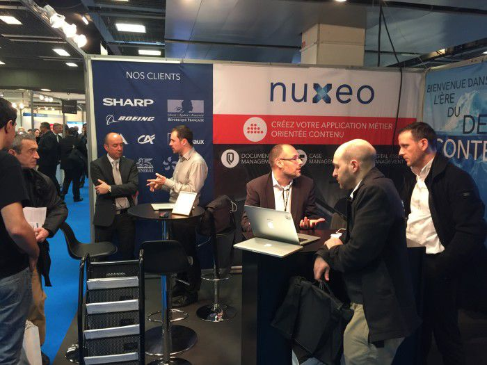 Nuxeo Showed its Vision of Digital Transformation at Documation 2015!