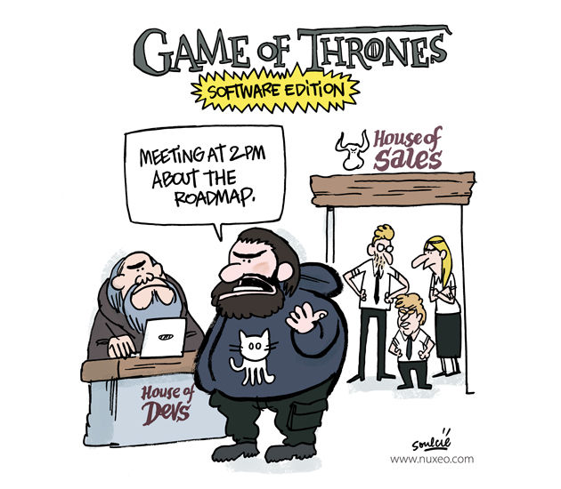 Nuxeo Game Of Thrones Comic