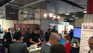 Speed Demo of Nuxeo at the Sollan Booth - Documation 2015