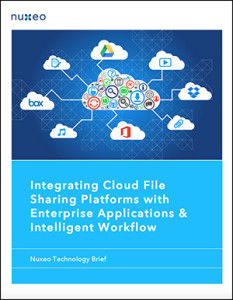 Integrating Cloud File Sharing with Workflow